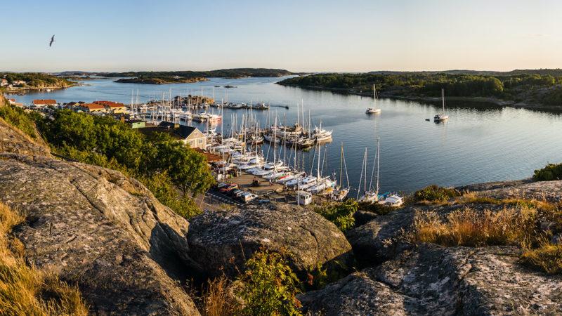 Gästhamn och båtplatser i Grebbestad